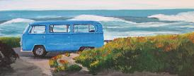 Camper by the Sea VW campervan
